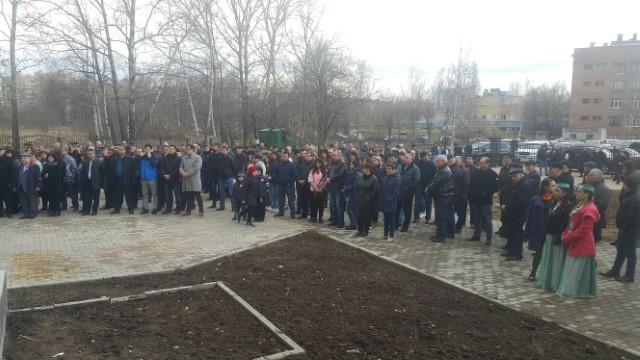 Митинг армян в Ярославле