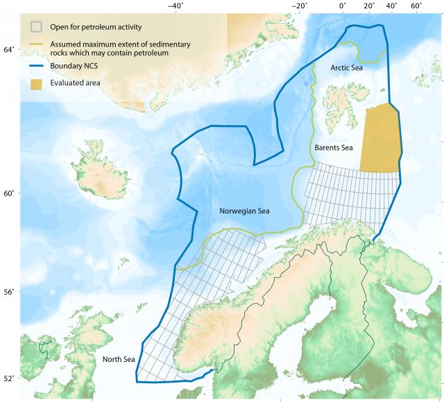 Норвежские запасы нефти в Арктике удвоились