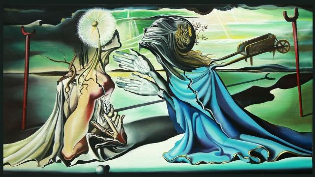 Сальвадор Дали «Тристан и Изольда» (1944)