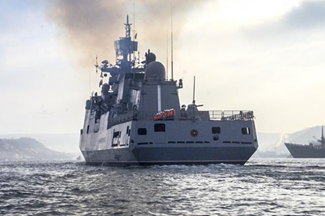 Новейший фрегат Черноморского Флота «Адмирал Григорович»