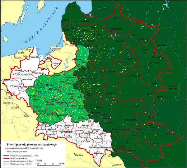 Польша: Восстание началось