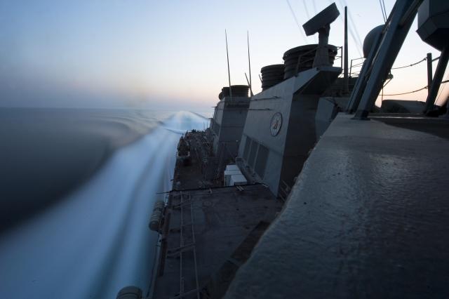 Эсминец «Арли Берк» ВМС США