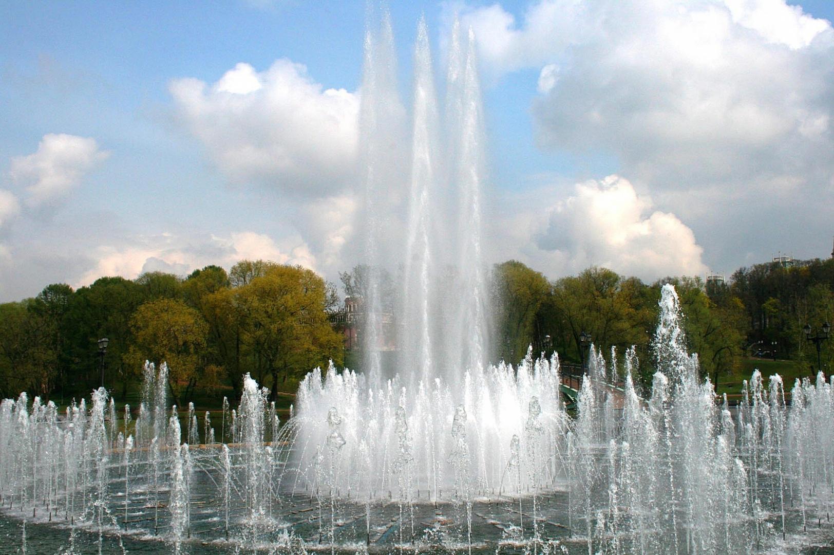 Открытки фонтаны