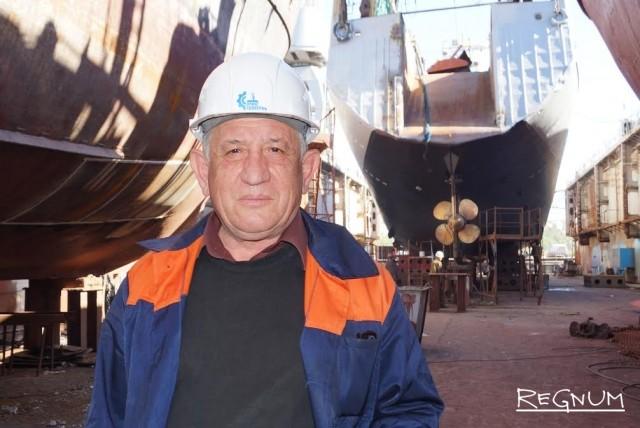 Севастополь: Строитель кораблей – профессия со времен Петра Первого