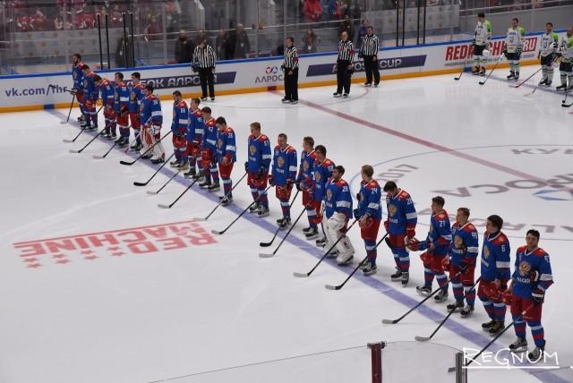 Олимпийская сборная России выиграла Кубок АЛРОСА: Фоторепортаж