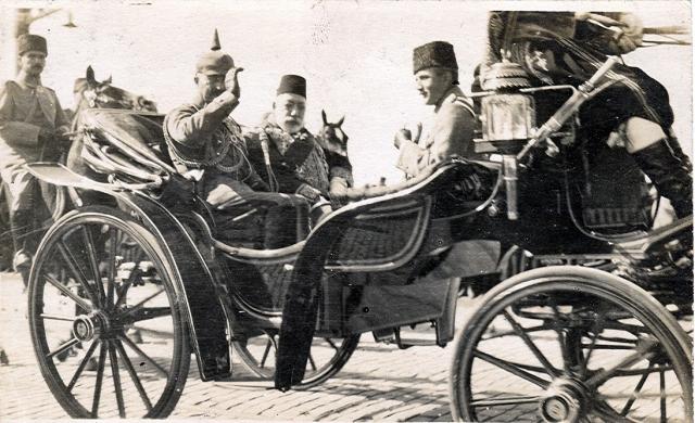 Визит немецкого кайзера Вильгельма II в Турцию в октябре 1917 года