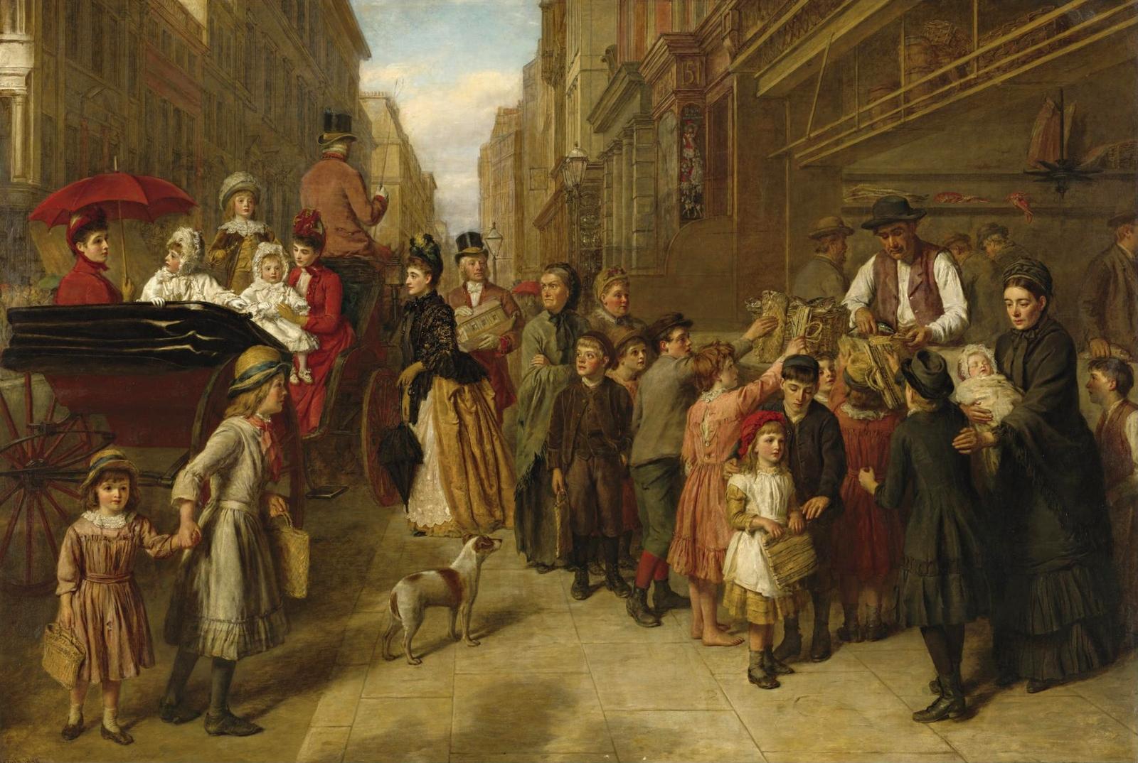 Уильям Пауэлл Фрайт. Бедность и богатство. 1888