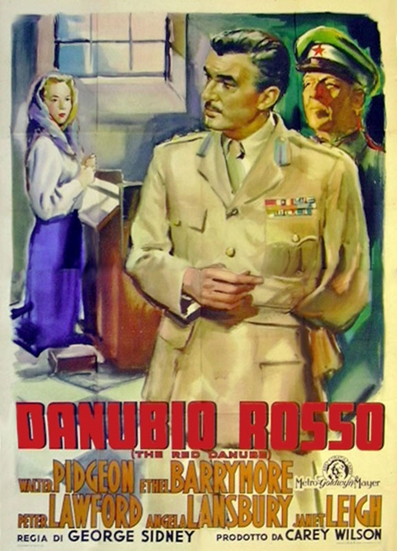 Плакат фильма «Красный Дунай»