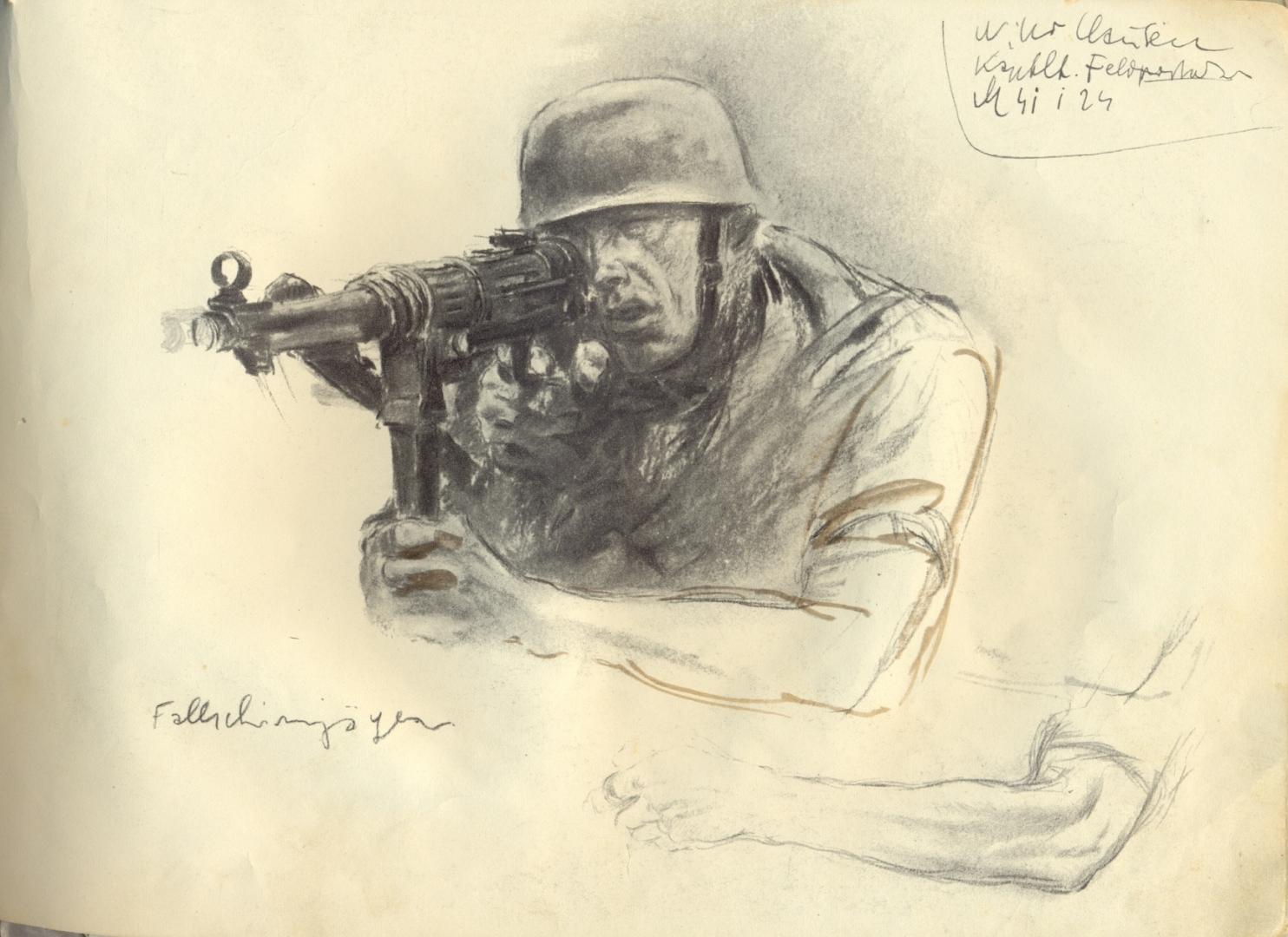 Рисунок Ханса Лиска