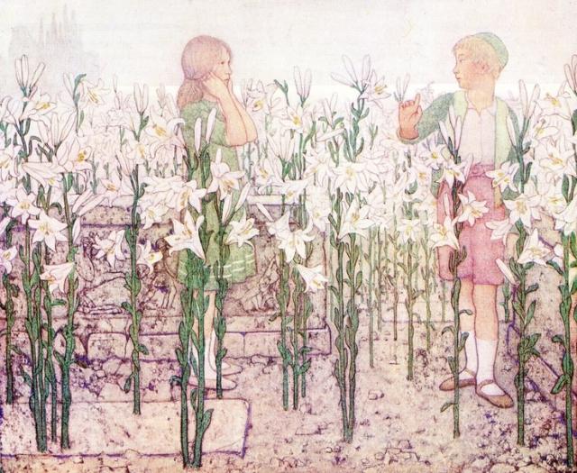 Фредерик Робинсон. Тильтиль на кладбище. 1923