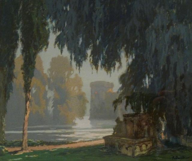 Джордж Добнер. Замок Пелеаса. 1922