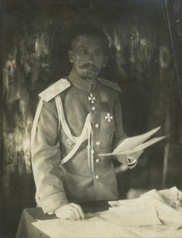 Лавр Корнилов в 1917 году