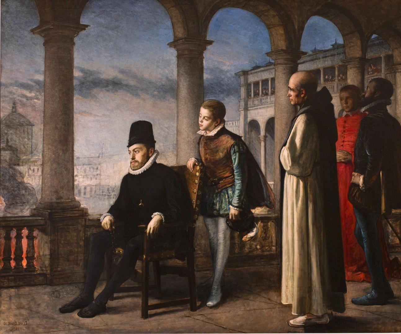 Доминго Хенареджос. Филпп II. Декларация веры. 1871