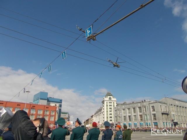 В небе над Новосибирском развернулось авиашоу