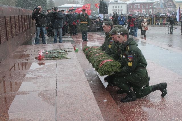Возложение венков к Мемориалу Славы