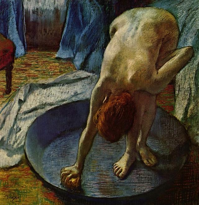 Эдгар Дега. Мытьё. 1886