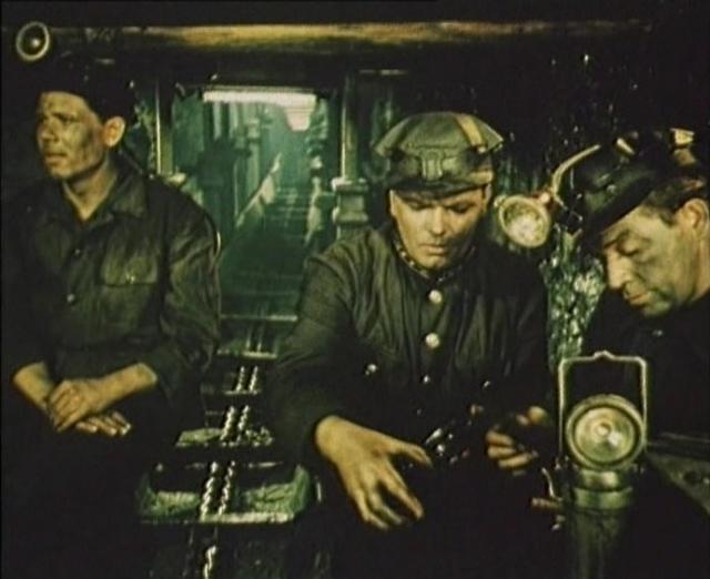 В шахте