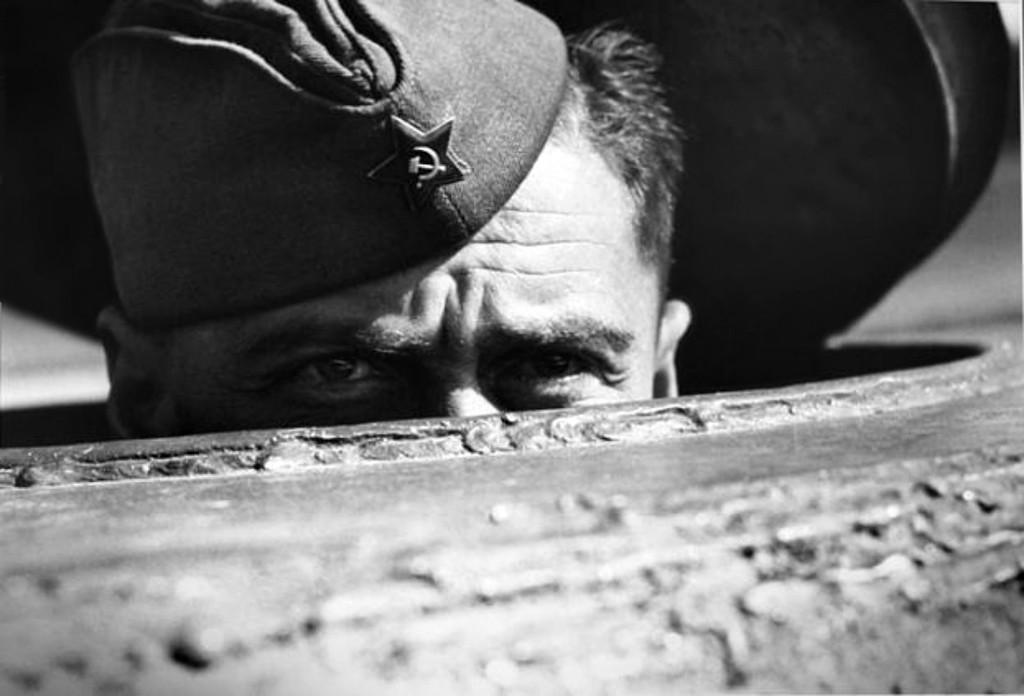 Во время боёв за Берлин. 1945