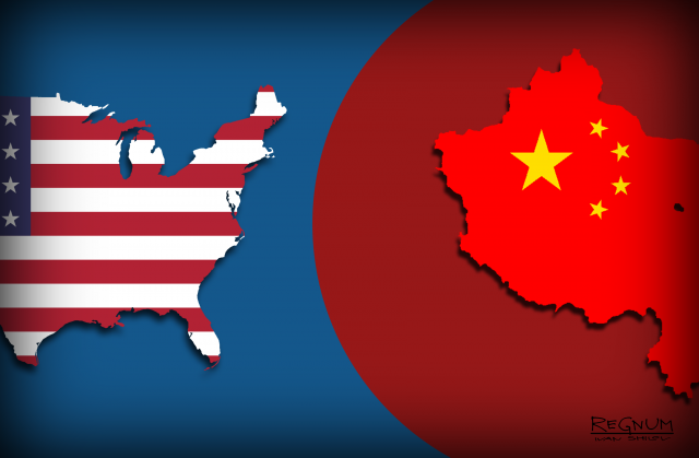 США — Китай