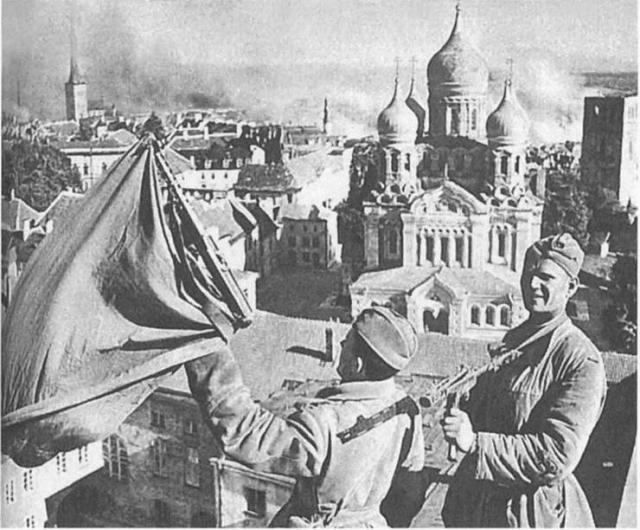 Освобождение советскими войсками Таллина. 1944