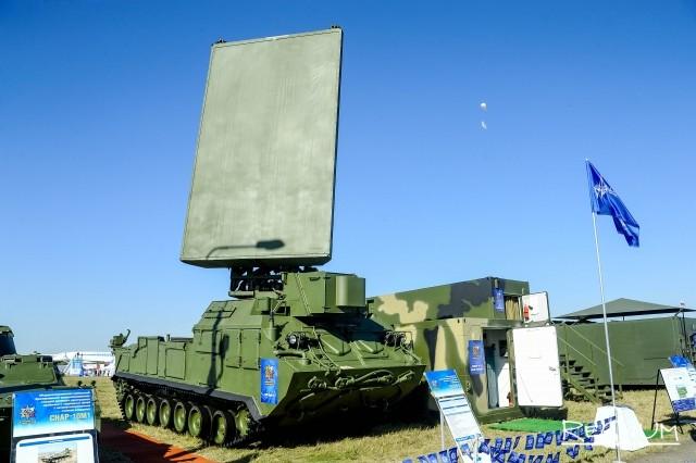 Радиолокационный комплекс разведки позиций ракет и артиллерии 1Л219М «Зоопарк-1»