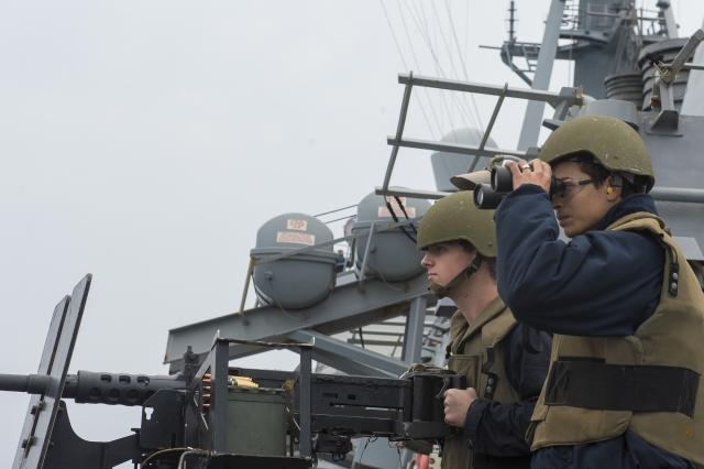 Начштаба ВМС США: Нам нужно наращивать численность флота