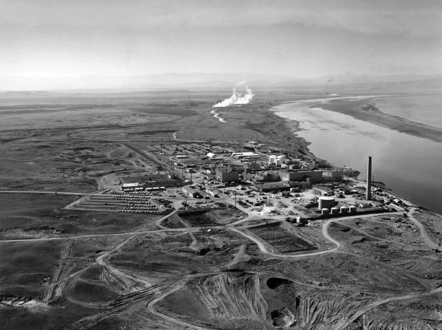 Ядерный реактор в Хэнфорде