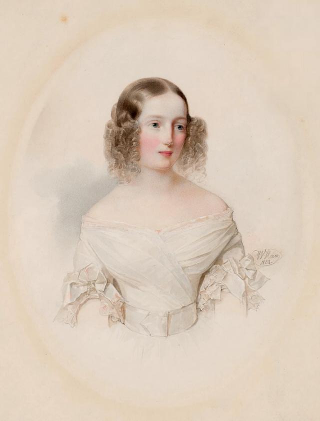Владимир Гау. Великая княжна Ольга Николаевна. 1838