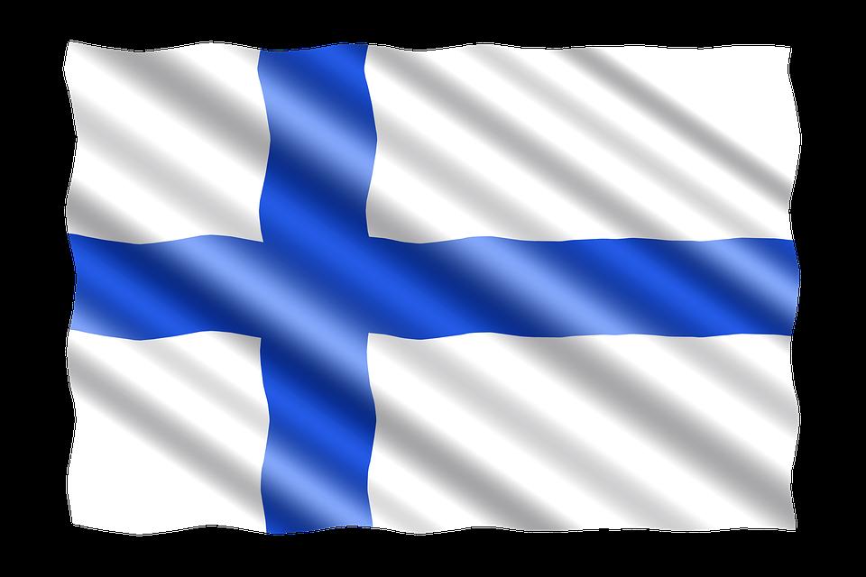 Картинки финляндия флаг