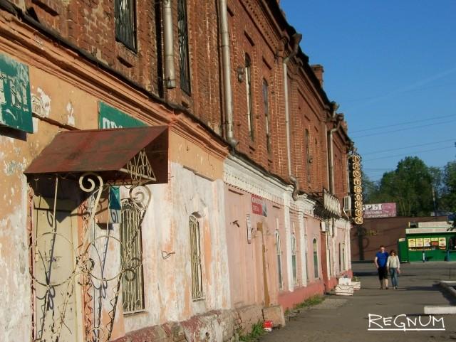 Бывший магазин «Сухов с сыновьями» в Барнауле