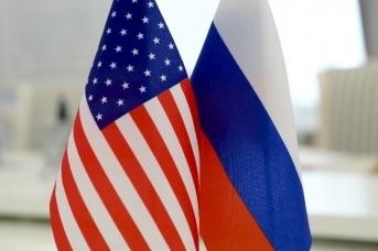 Флаги России и США. Mil.ru
