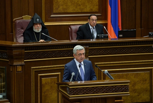 Президент Армении раскрыл некоторые детали переговоров по Карабаху
