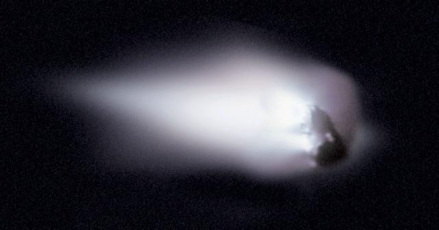 Ядро кометы Галлея. 4 января 2014