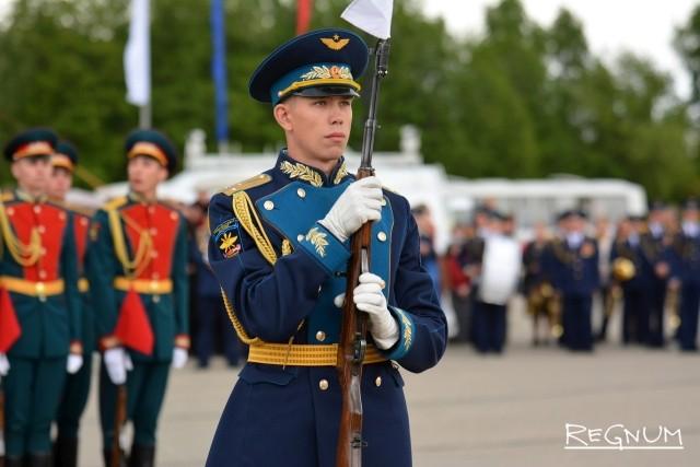 Показательные выступления Военно-воздушной академии