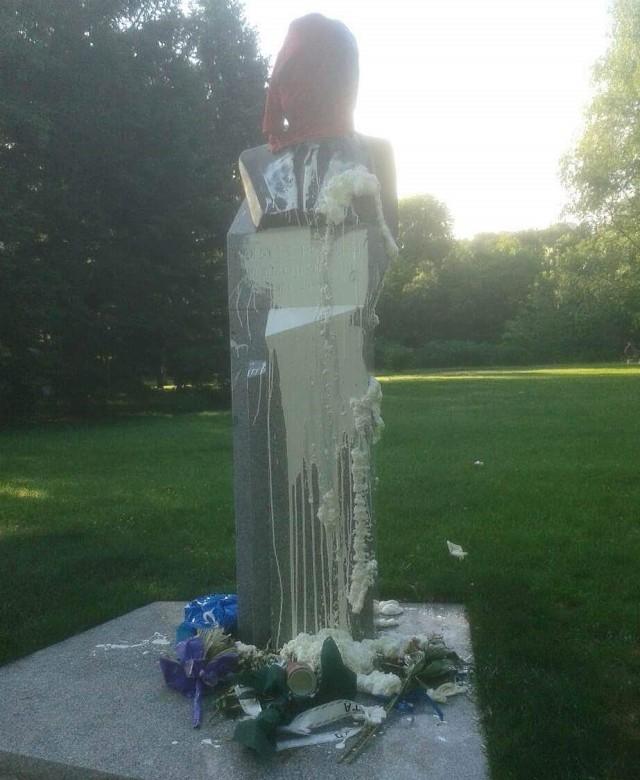 Бюст Рональда Рейгана в Южном парке в Софии
