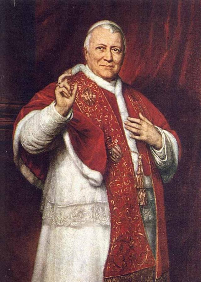 Джордж Хили. Папа Пий IX. 1871