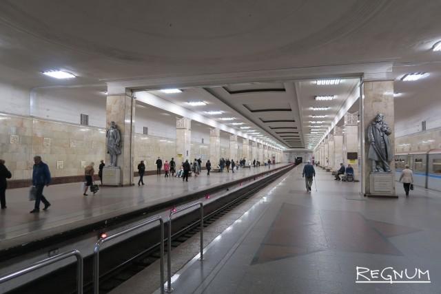 Подземный дворец коммунизма: Станция «Партизанская»