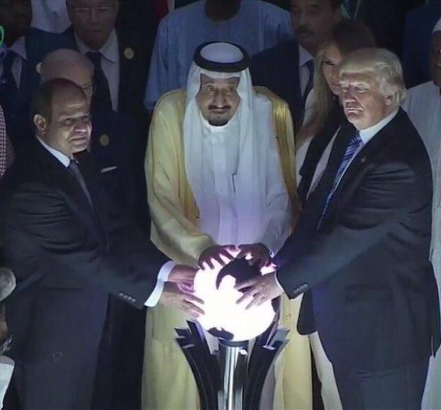 Гигантская оружейная сделка США и Саудовской Аравии: шоу, зрители, жертвы