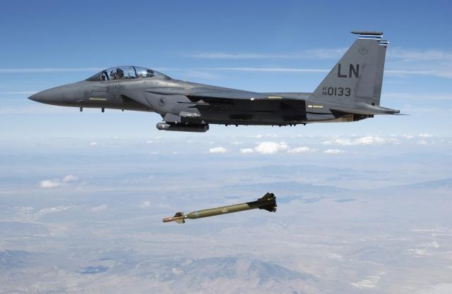 ВВС США. Бомбардировка