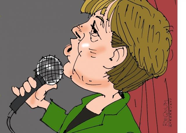 «Меркель с пивом в руках высказалась о ненадежности Трампа и Мэй»