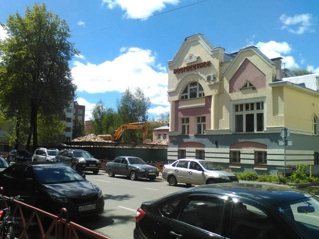 Ярославцы возмущены сносом столетнего здания в буферной зоне ЮНЕСКО