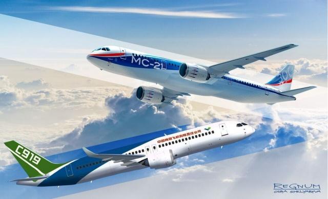 МС-21 и С-919