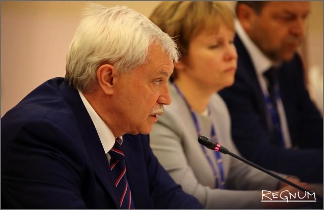 Георгий Полтавченко на ПМЭФ-2017