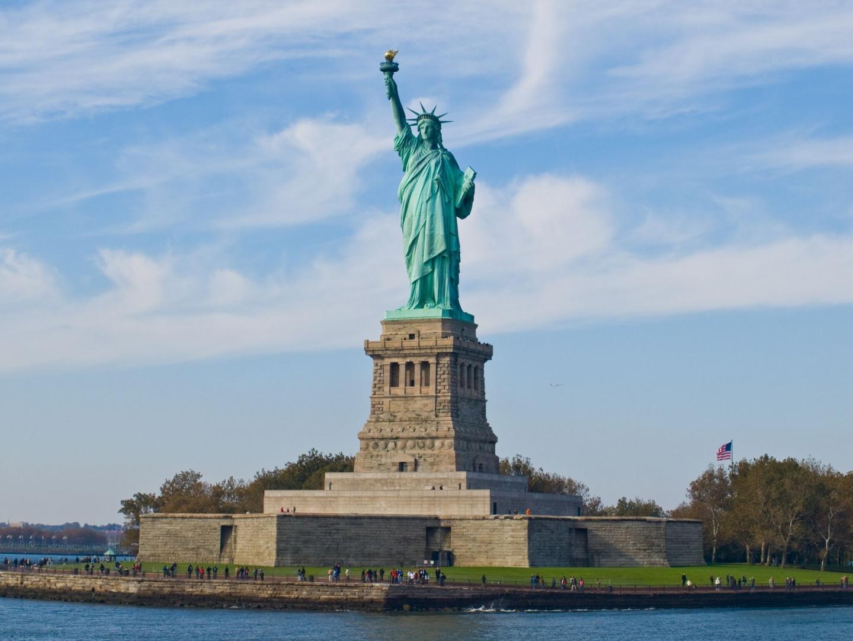 Статуя Свободы. Нью-Йорк