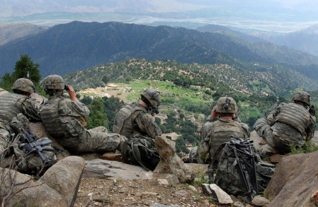 Солдаты США в Афганистане