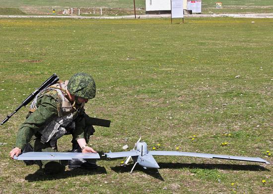 Российский беспилотник на Курильских островах