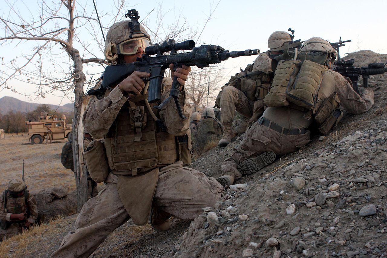 морпехи в афганистане фото случае