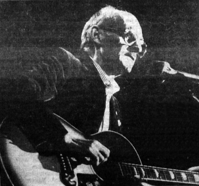 Булат Окуджава. 1991 год