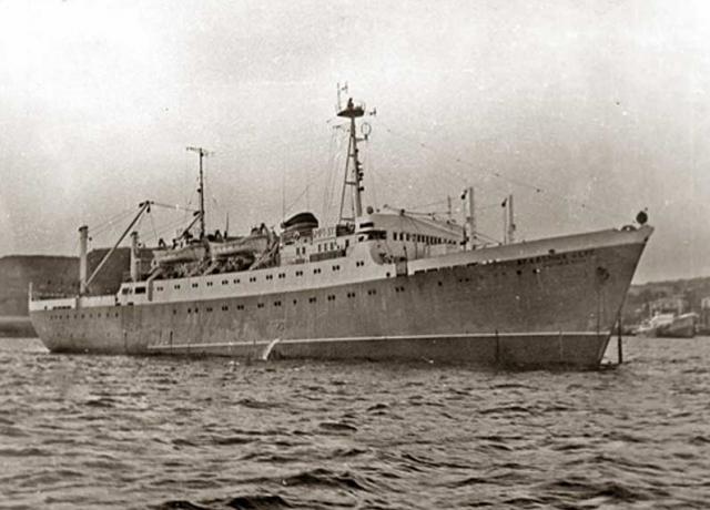 Научно-поисковое судно «Академик Берг»