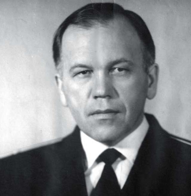Юрий Калошин, командир штурманской боевой части бч-1 К-56, капитан 2-го ранга